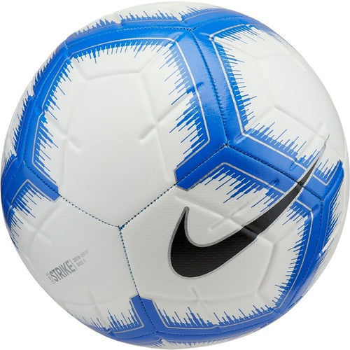 Strike Soccer Ball - White/Racer Blue/Black