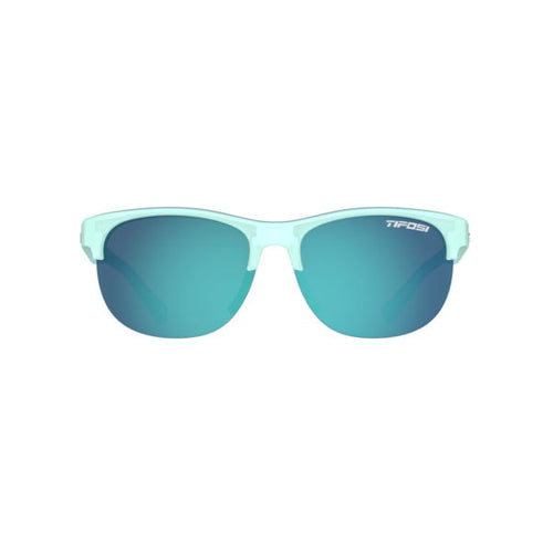 Tifosi Swank SL Sunglasses - Satin Crystal Teal / Sky Blue