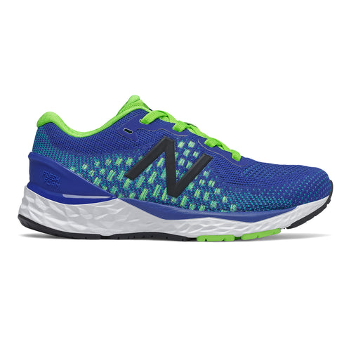 Boy's 880v10 Running Shoe - Team Royal/Energy Lime