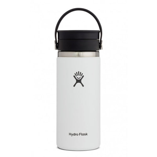 16 oz Coffee with Flex Sip Lid Bottle - White