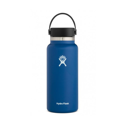 32 oz Wide Mouth Insulated Waterbottle - Cobalt
