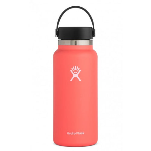 32 oz Wide Mouth Insulated Waterbottle - Hibiscus