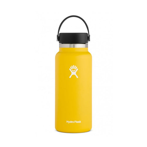 32 oz Wide Mouth Insulated Waterbottle - Sunflower
