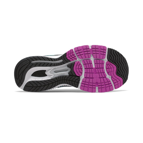 Women's 860v9 Running Shoe - White/Voltage Violet/Black