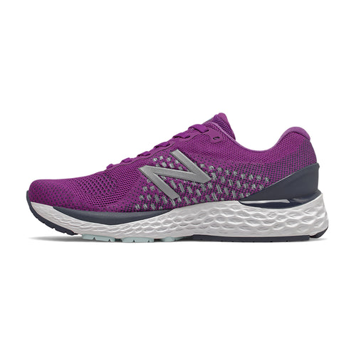 Women's 880v10 Running Shoe - Plum/Natural Indigo