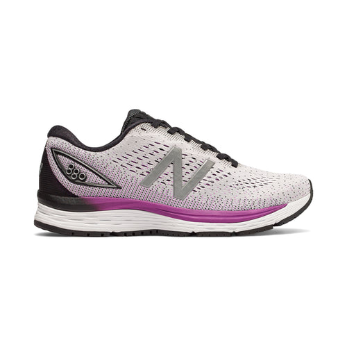 Women's 880v9 Running Shoe - White/Voltage Violet/Black