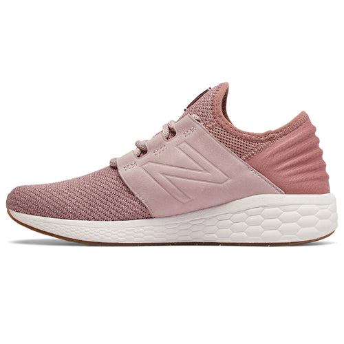 Women's Fresh Foam CRUZ v2 Running Shoe - Conch Shell/Dark Oxide