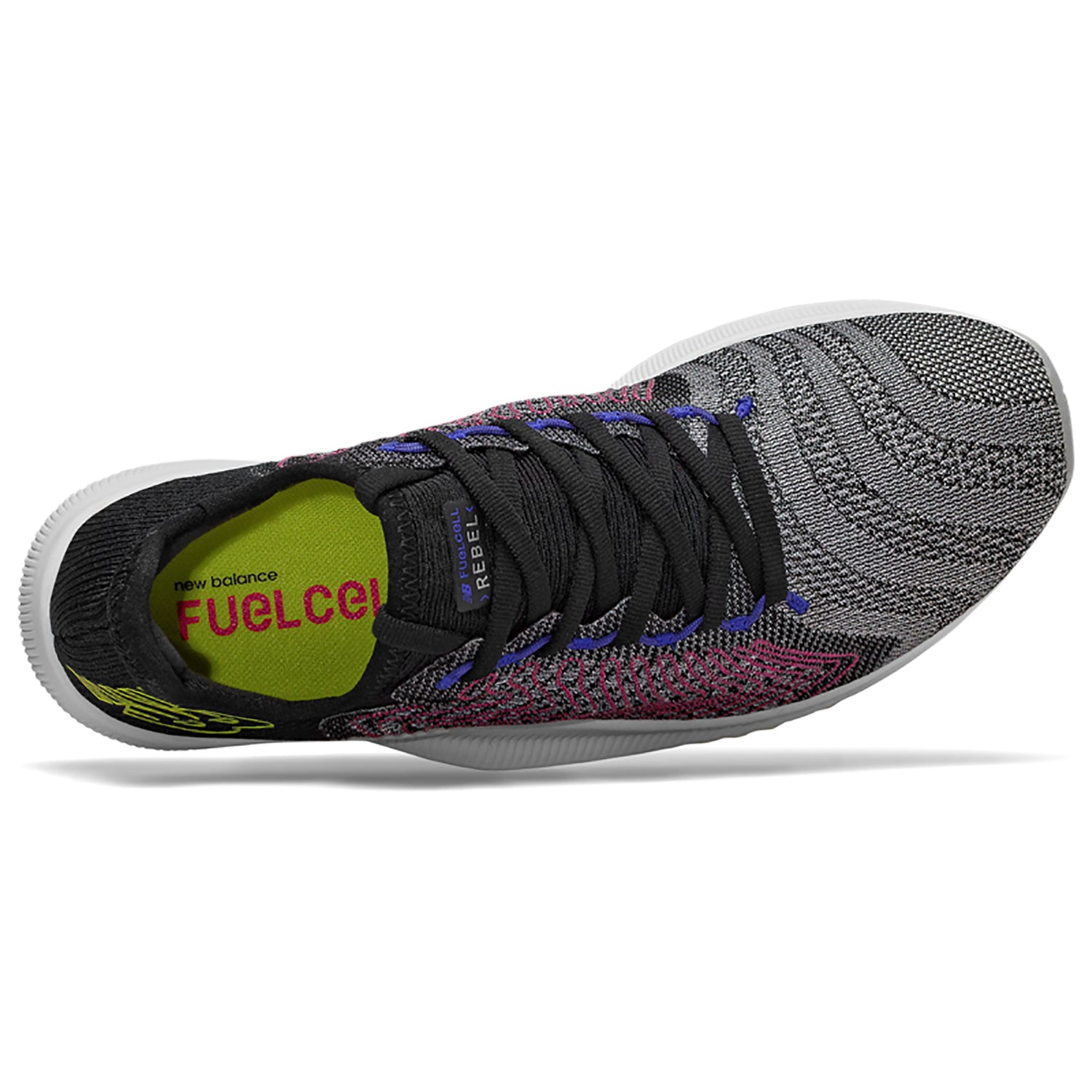 f68421b482e6b Women's Fuelcell Rebel Running Shoes - Black/Multicolor – Gazelle Sports