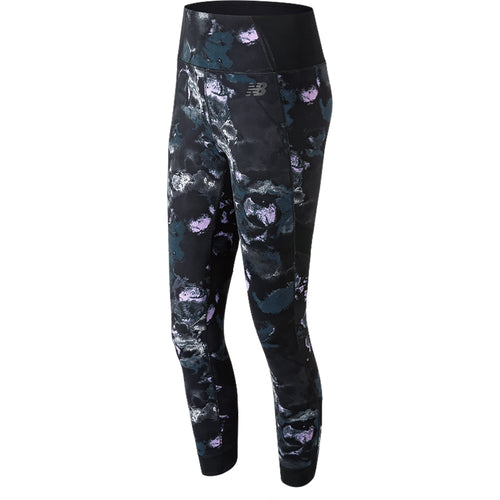 Women's Printed Evolve Tight - Violet Glo Print