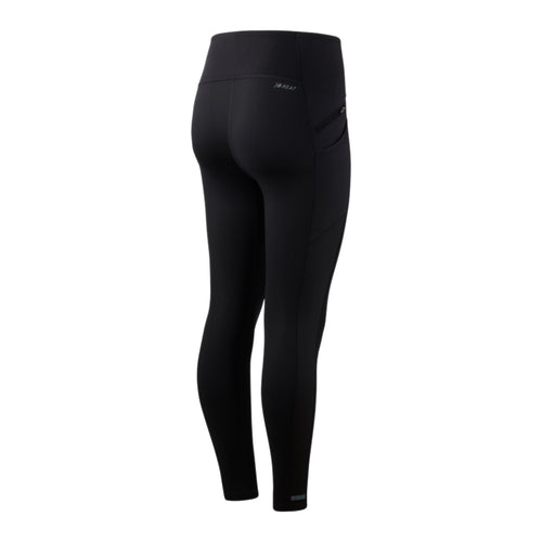 Women's Impact Run Heat Tight - Black/Silver