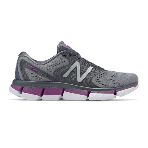 Women's Rubix Running Shoe - Lead/Voltage Violet/Steel