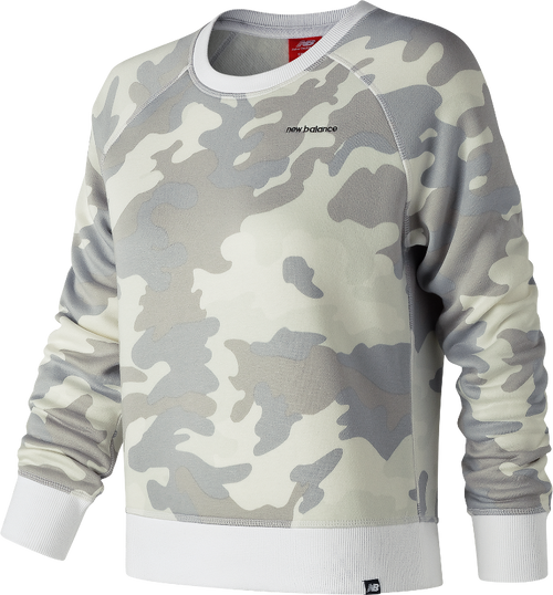 Women's Essentials Camo Brush Crew