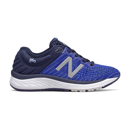 Youth 860v10 Running Shoe -Pigment with UV Blue & Bayside