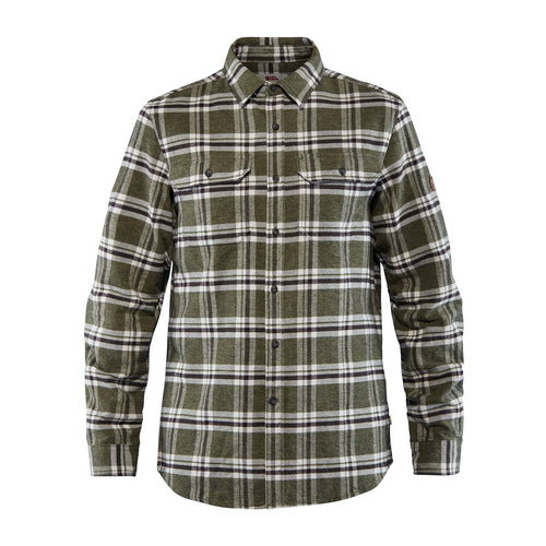 Men's Ovik Heavy Flannel Shirt - Deep Forest Green