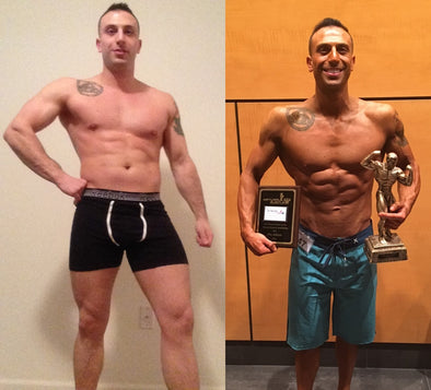 Natty Nutrition helped turn me into a champion!