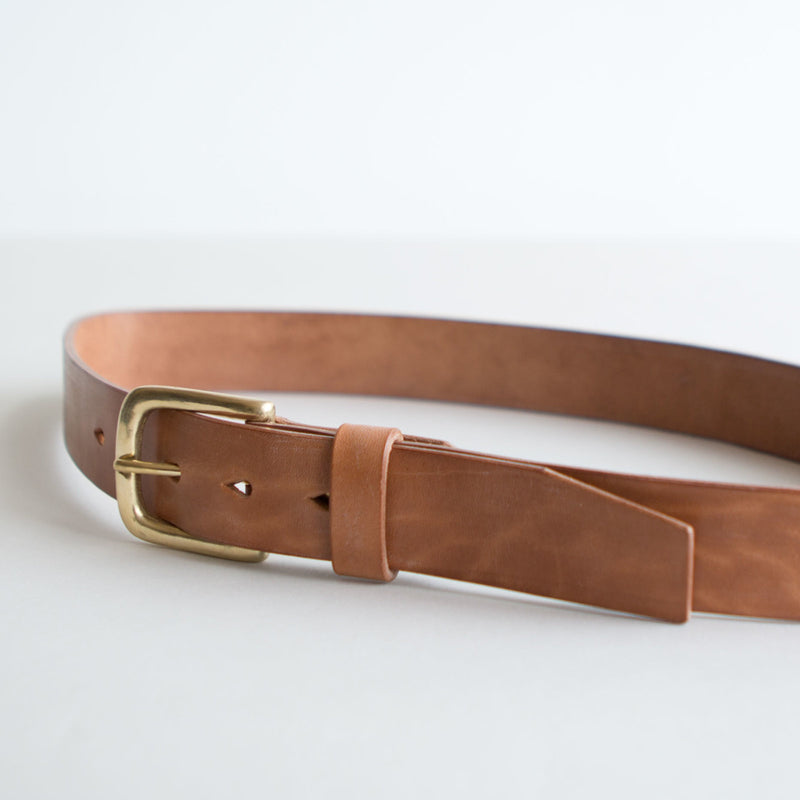 Chino Belt Horsehide Bridle