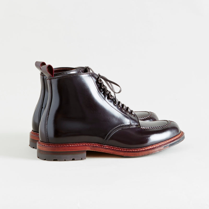 Alden + Context Number 8 Shell Cordovan Tanker Boot