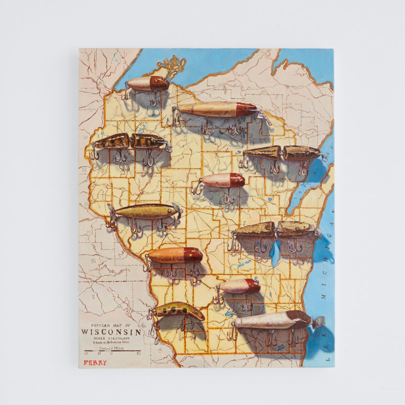Popular Map of Wisconsin