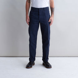 Supply Pant Navy Herringbone