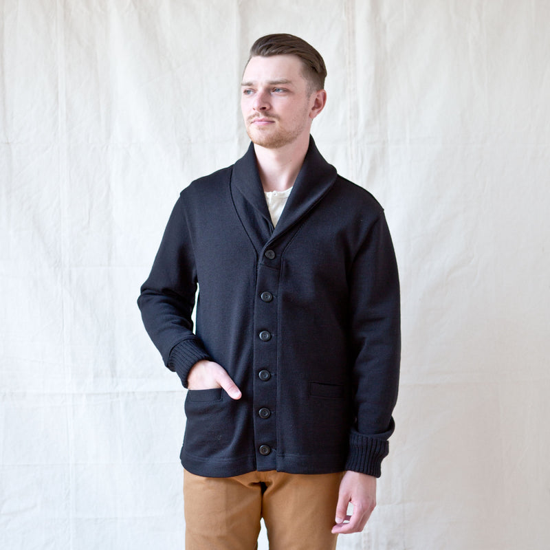 Shawl Sweater Coat Black