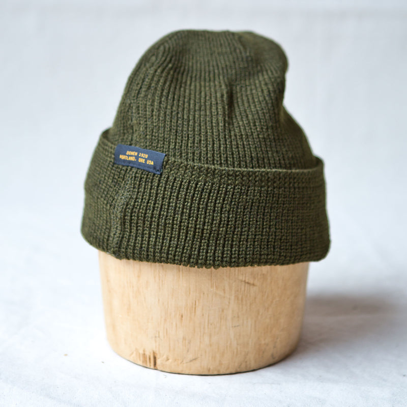 Wool Knit Watch Cap Loden