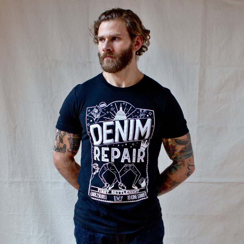 FSD Denim Repair Tee