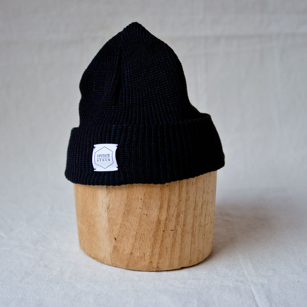 Eco-Cotton Watchcap Black