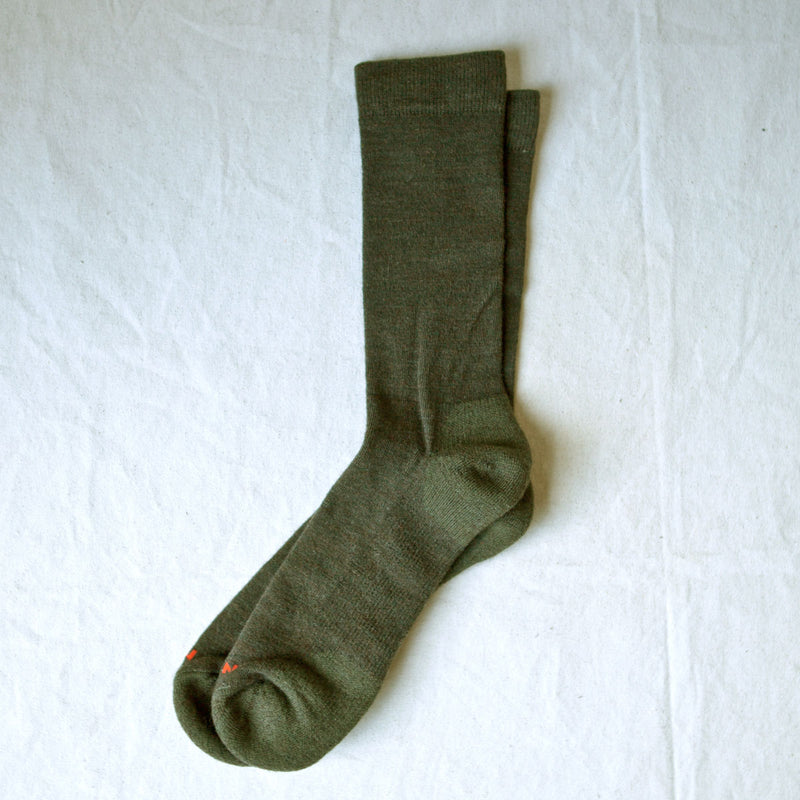 Everyday Crew Sock Green