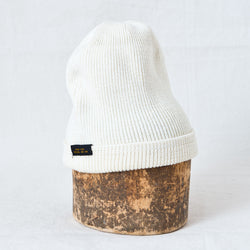 Wool Knit Watch Cap Natural