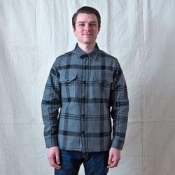 Deer Island Jac-Shirt Heather Black