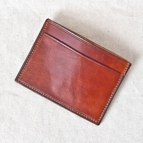 Three Pocket Wallet Brown Jacked Harness