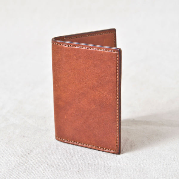 Two Pocket Wallet Brown Jacked Harness
