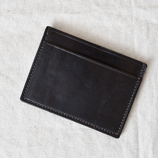 Three Pocket Wallet Black Jacked Harness