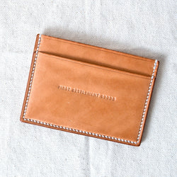 Three Pocket Wallet Natural Jacked Harness