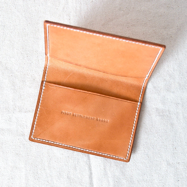 Two Pocket Wallet Natural Jacked Harness