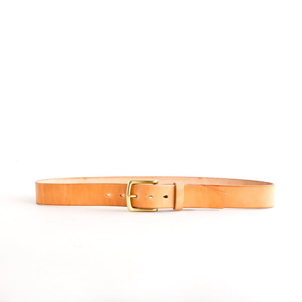 Standard Belt Natural Jacked Harness Brass