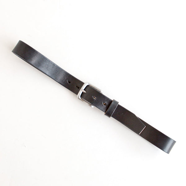 Chino Belt Black Jacked Harness Steel