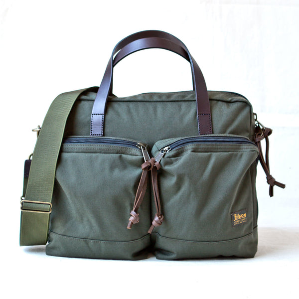Dryden Briefcase Otter Green