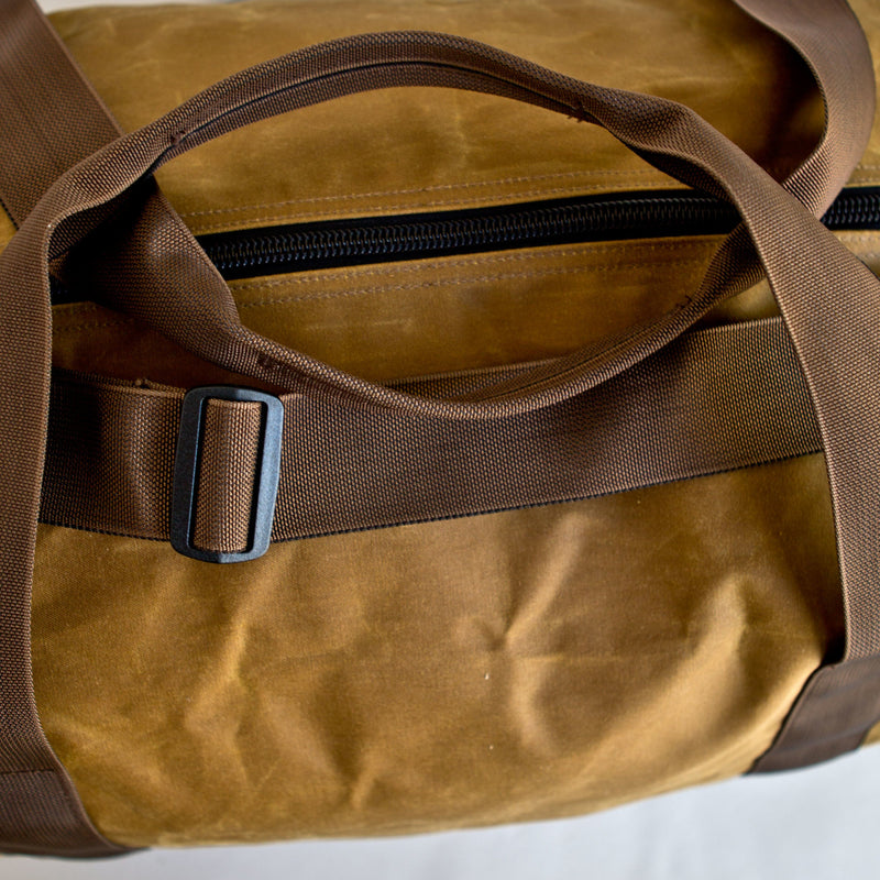 Field Duffle Medium Dark Tan