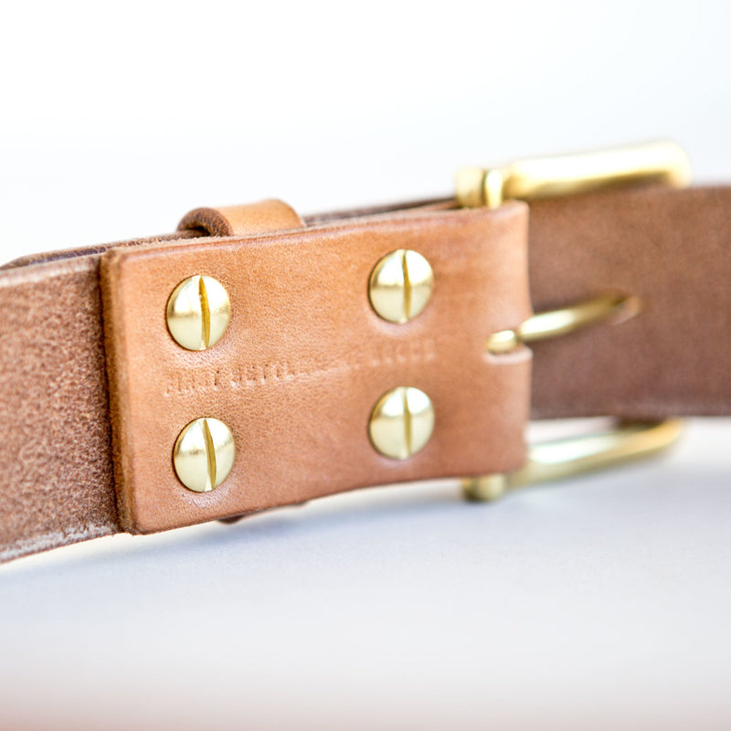 Standard Belt Natural English Bridle