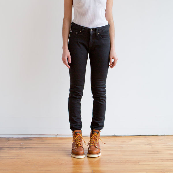 Women's Stretch Skinny Black 1069-5