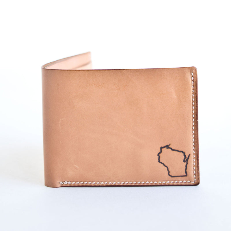 Wisconsin State Leather Wallet