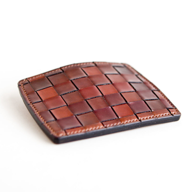 Basket Weave Card Case Color 4