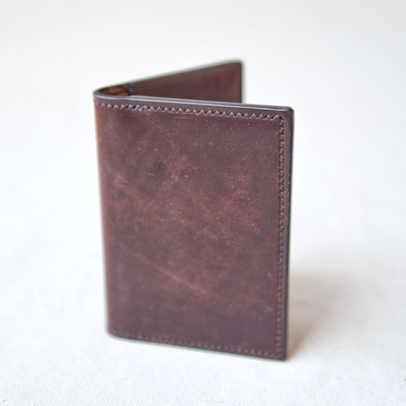 Two Pocket Wallet Marbled Color 8 Shell Cordovan