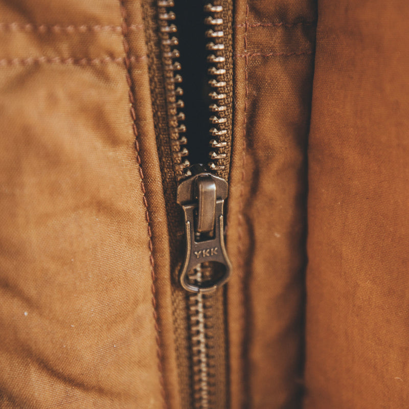 Down Cruiser Vest Dark Tan
