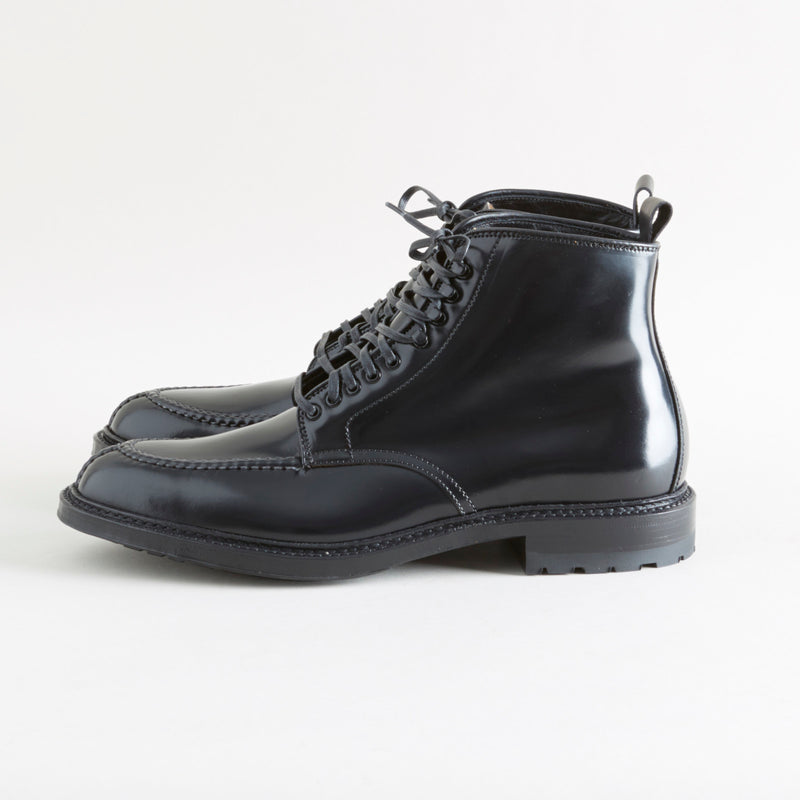 Alden + Context Tanker Boot Black Shell Cordovan