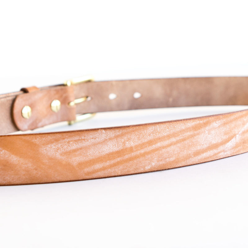 Chino Belt Natural English Bridle