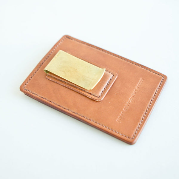 Money Clip Natural Shell Cordovan