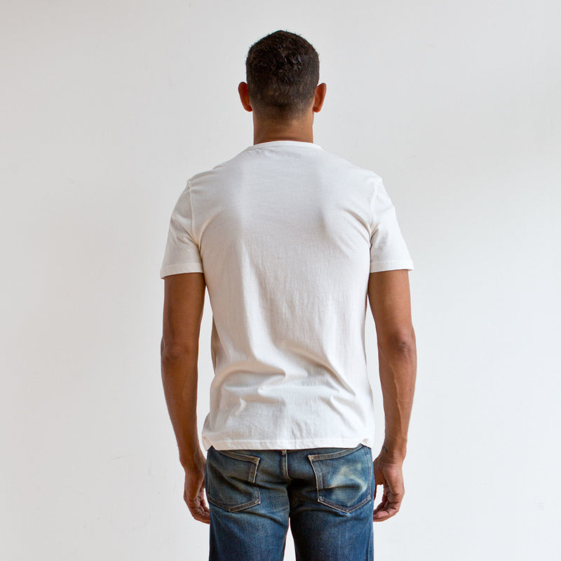 Offshore Pocket Tee Off White
