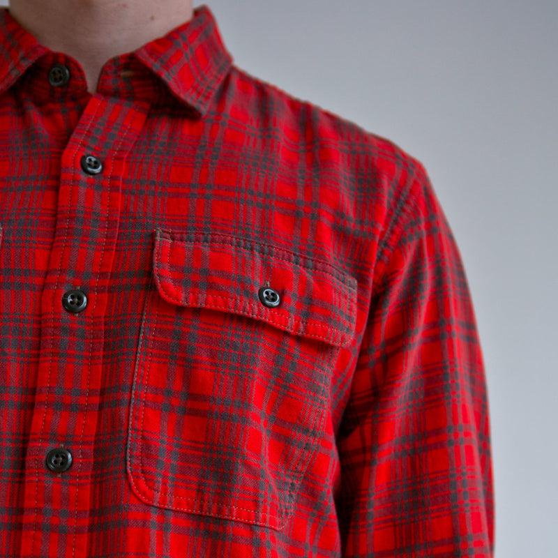 Scout Shirt Red Olive